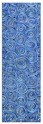 Print painting on canvas aboriginal art COA Authentic By Jane Crawford