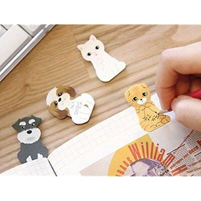 NEW Cute Cartoon Sticker Post-It Bookmark Point It Marker Memo Flag Sticky Notes