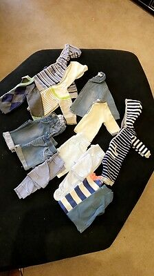 Newborn Baby Boys Clothing Bundle 0-3 Months All Seed/CR/Pumpkin Patch Exc Cond