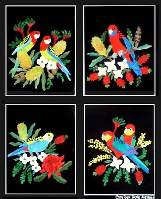 Quilting Patchwork Applique Batik Quilt by Numbers ROSELLA Set 4 Fabric Kit New