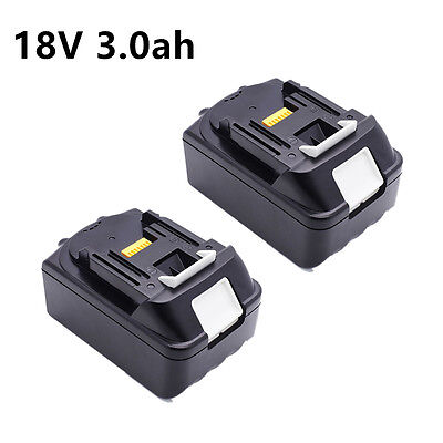 2X Makita 18V 3.0Ah LITHIUM ION Battery LXT BL1830 BL1815 UK STOCK Replacement