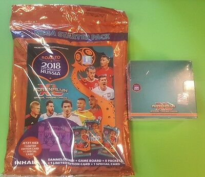 Panini Adrenalyn XL Road to 2018 World Cup Russia Starterset + 1 Display