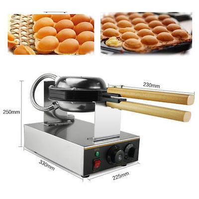 Stainless Steel Electric Egg Cake Oven QQ Egg Waffle Maker Egg Waffle Machine CA