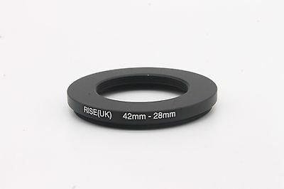 RISE(UK) 42-28 42mm to 28mm Step-down Fiter Ring Camera Lens Adapter 42-28