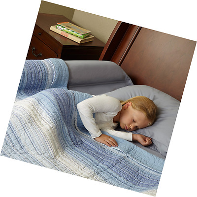 Toddler Bed Rail Bumper / Foam Safety Guard for Bed - Side Rail with Waterproof