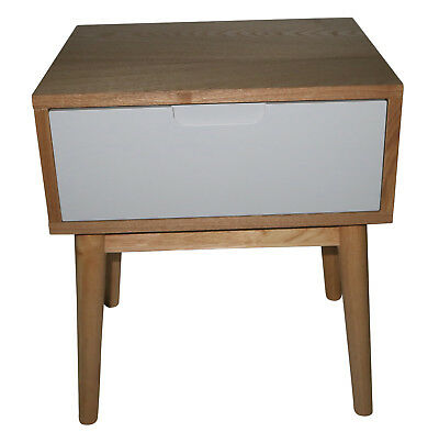 NEW Annika Scandinavian Side Table with Drawer