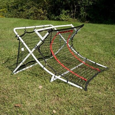 New Soccer Trainer Rebound Net Ramp Football Fold Equipment Goal Shoot Training