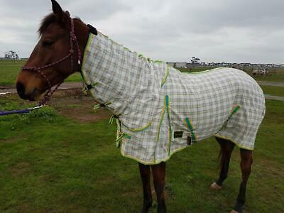 Rumani 310gsm Summer PolyCotton Ripstop Paddock Horse Rug Combo