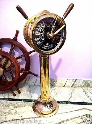Brass Ship's Telegraph Engine Order Antique Maritime Decorative 43 ""