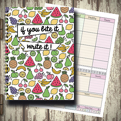 Food Diet Diary Slimming World Compatible Activity Loss Tracker Journal Go Girl