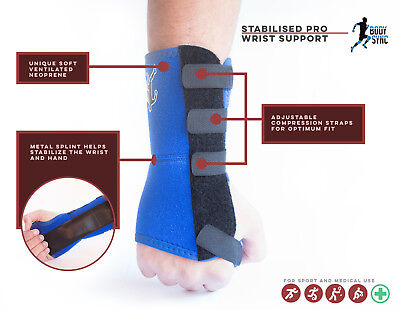 Wrist Support for Carpal Tunnel Adjustable with Neoprene NHS USE MEDICAL GRADE