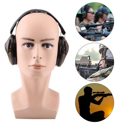 Ear Muffs Hearing Foldable Noise Reduction 21dB Protection Gun Shooting Range
