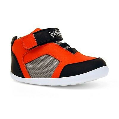 Outlet Designer Bobux 725103 Baby Shoes Step up Flame Element Size 3 RRP £38.95