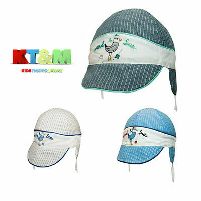 Baby Toddler Boy Summer 100% Cotton Beach Holiday Hat Cap 12 months to 3 years