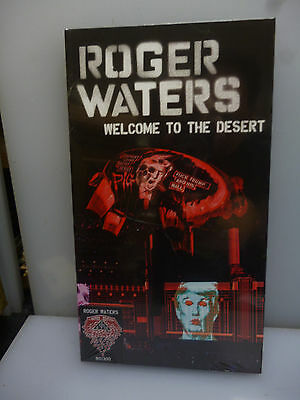 Roger Waters-Welcome To The Desert. Usa '16-1Dvd+3Cd Boxset(Longbox)-New.sealed.