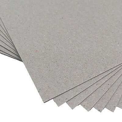 "New Boxboard 6x8"" 700gsm 100 Sheets - Chipboard Boxboard Cardboard Recycled"