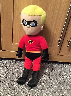 """Disney Store Exclusive plush soft toy Talking Dash from The Incredibles 17"""""""