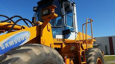 Samsung Sl120-2 Loader W/ Forks - Low Hours - Finance Available...!!!