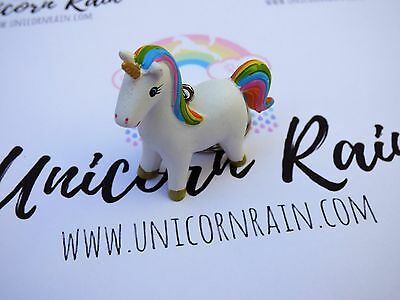 Magical Lucky Cute Unicorn Rainbow Keyring / Keychain
