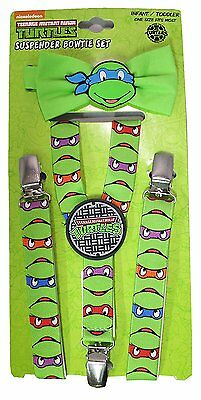 Teenage Mutant Ninja Turtles TMNT Suspenders and Bow Tie Set - Toddler TMX56884