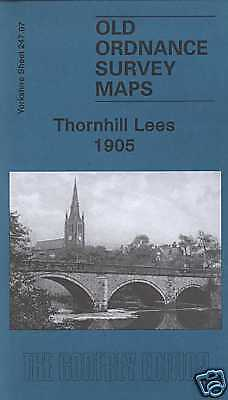 Old Ordnance Survey Map Thornhill Lees 1905
