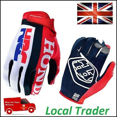 FOX, Honda, TLD, Troy Lee Design TEAM, KTM Go Pro Motocross GLOVES Enduro, ATV
