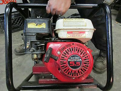 HONDA 5.5 HP GX160 with SOMMER GENERATOR 2500 WATTS 110 VOLT 2 POWER OUTLETS