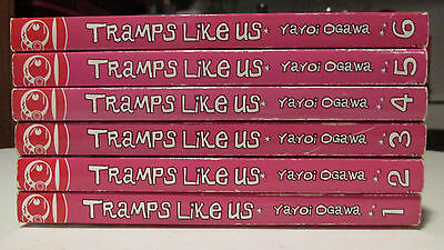 Tramps Like Us Manga Lot (1,2,3,4,5,6)