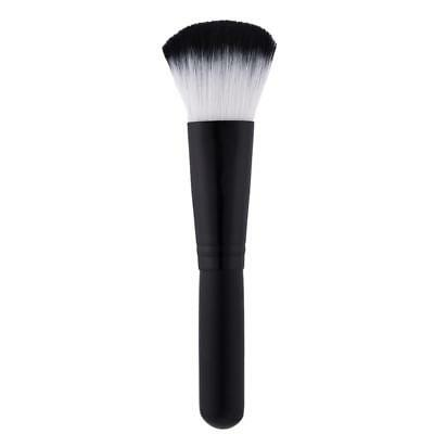 Wood Kabuki Soft Face Makeup Blush Powder Contour Cosmetic Brush Beauty Tool