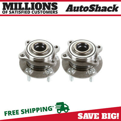 Pair (2) Wheel Hub Bearing Assembly For 07-16 Hyundai Santa Fe 14-16 Santa Fe XL