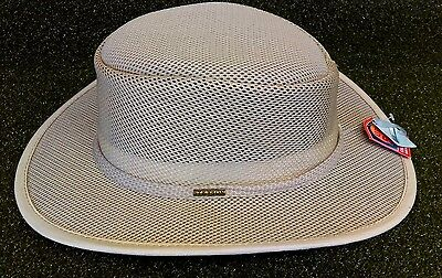 21ec6d16945 Stetson Mesh Covered Safari Hat Men s X-Large STC205 Clay NEW Golf Accessory