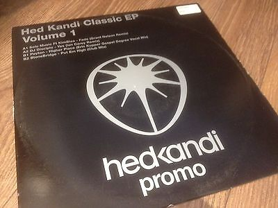 "Hed Kandi Classic Ep Vol 1 - 4 Tracker !! Sought After House 12"" Vinyl Record Dj"