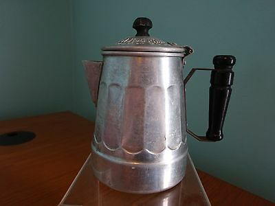 Miniature Thompson's Double Malted Malted Milk Hot or Cold Coffee Pot