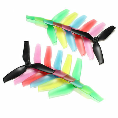 10 Pairs Racerstar 5042 5x4.2x3 3 Blade  Propeller 5.0mm Mounting Hole For FPV R
