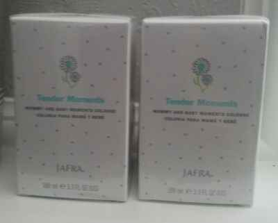 Jafra TENDER MOMENTS MOMMY AND BABY COLOGNE 3.3oz  2 lot