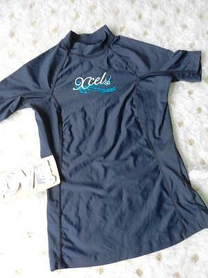 Xcel Uv Protection 50 Rashguard Youth Sz 10