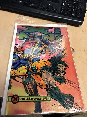Marvel Age of Apocalypse X-Men Prime July 1995 Foil Cover