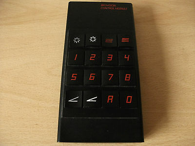 Rare Bang & Olufsen 1970s Remote Control for Beovision 3702 and 4402 TV's