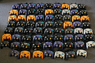 Lot 70 Official Nintendo Gamecube Controller Pad GC DOL-003 OEM Wii UNTESTED