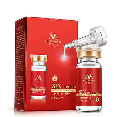 MeiYanQiong Hydrated Six Peptides Essence Liquid Moisturizing Anti-aging Tighten
