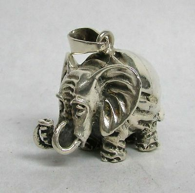Sterling Elephant Pendant