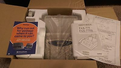 Brother IntelliFAX-775 Home / Office Plain Paper Fax Phone & Copier IN BOX WORKS