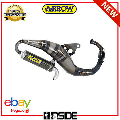 Marmitta Scooter Limited Serie Arrow Mbk Booster 50 N.g. 98 - 06 33006Ls