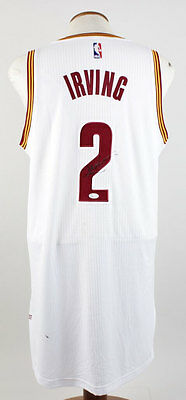 Cleveland Cavaliers – Kyrie Irving Signed Authentic Game Style Jersey- COA JSA