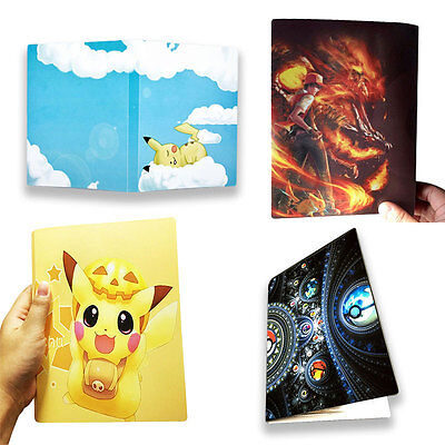 Pokemon Characters Album Book 112 Cards Collectors Collection Kids Toys