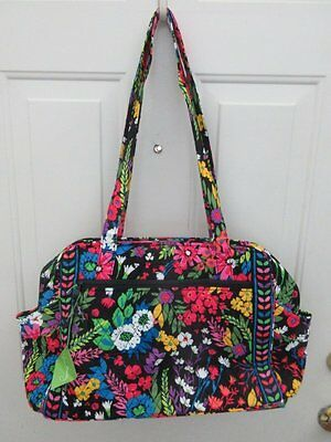 Vera Bradley Make A Change Baby Bag Field Flowers Brand New NWT Authentic