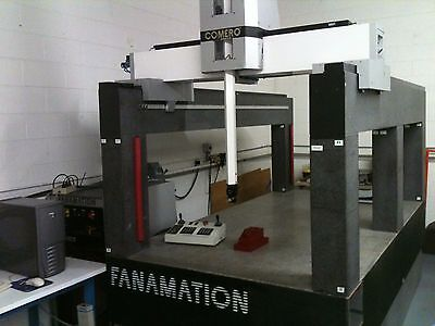 Fanamation Gantry Cmm 1004040-Ph10M/tp7,installed/calibrated/1 Yr Warranty