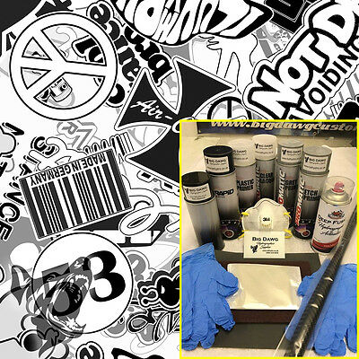 Hydro dipping Hydrographics home starter Dip Kit - Dubstyle VW (DK-RAB01)