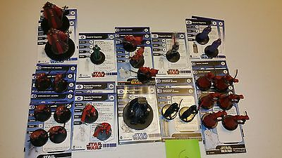 G Star Wars Miniatures Imperial Palpatine Throne Royal Shadow Guard Hand +++