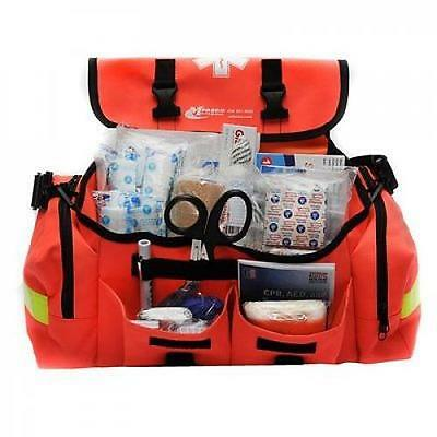 First Aid Kit Emergency Response Trauma Bag Complete Supplies Stocked EMT EMS